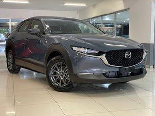 2021 Mazda CX-30 DM2W7A G20 SKYACTIV-MT Pure Grey 6 Speed Manual Wagon.