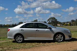 2014 Toyota Camry ASV50R Atara SL Silver 6 Speed Automatic Sedan.