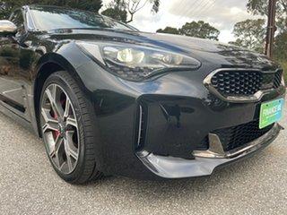 2019 Kia Stinger CK MY19 GT Fastback Black 8 Speed Sports Automatic Sedan.