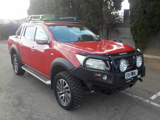 2018 Nissan Navara D23 Series III MY18 RX (4x4) Red 7 Speed Automatic Dual Cab Chassis.