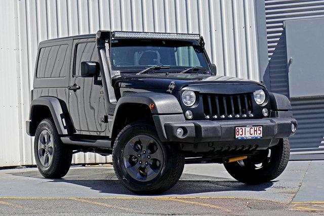 Used Jeep Wrangler JK MY17 Sport Springwood, 2017 Jeep Wrangler JK MY17 Sport Black 5 Speed Automatic Softtop