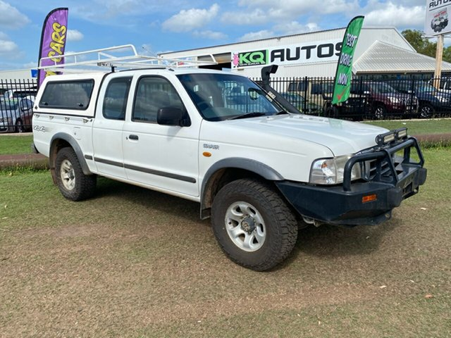 Used Ford Courier PG XL Super Cab Berrimah, 2004 Ford Courier PG XL Super Cab White 5 Speed Manual Utility