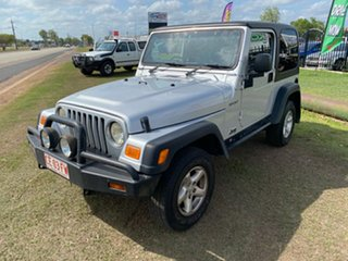 2006 Jeep Wrangler TJ MY2006 65th Anniversary Silver 6 Speed Manual Softtop.