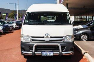 2012 Toyota HiAce KDH221R MY11 Super LWB White 4 Speed Automatic Van.