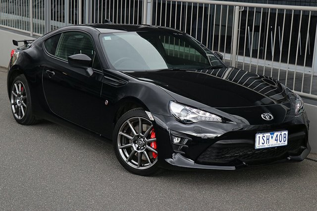 Pre-Owned Toyota 86 ZN6 GTS Preston, 2020 Toyota 86 ZN6 GTS Storm Black 6 Speed Sports Automatic Coupe