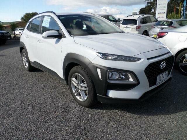 Used Hyundai Kona OS.2 MY19 Active (FWD) Wangaratta, 2019 Hyundai Kona OS.2 MY19 Active (FWD) White 6 Speed Automatic Wagon