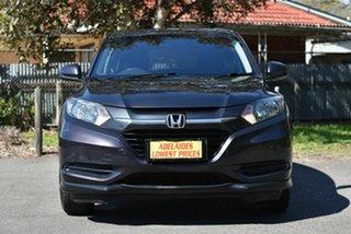 2017 Honda HR-V MY17 VTi Black 1 Speed Constant Variable Hatchback.