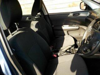 2011 Subaru Forester S3 MY11 X AWD Blue 5 Speed Manual Wagon