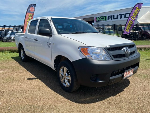 Used Toyota Hilux TGN16R MY05 Workmate 4x2 Berrimah, 2006 Toyota Hilux TGN16R MY05 Workmate 4x2 White 5 Speed Manual Utility