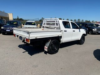 2016 Toyota Hilux GUN125R Workmate (4x4) White 6 Speed Automatic Cab Chassis