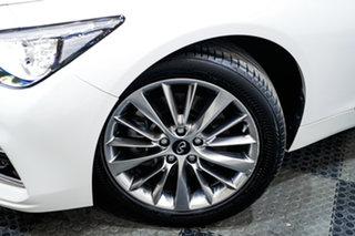 2018 Infiniti Q50 V37 GT White 7 Speed Sports Automatic Sedan