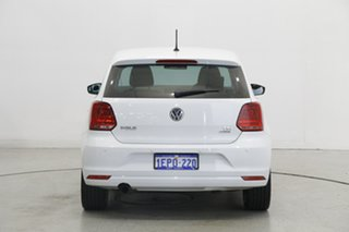2014 Volkswagen Polo 6R MY15 81TSI DSG Comfortline Pure White 7 Speed Sports Automatic Dual Clutch