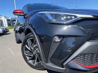 2020 Toyota C-HR ZYX10R Koba E-CVT 2WD Black 7 Speed Constant Variable Wagon Hybrid.