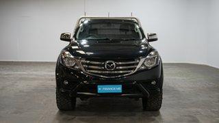 2018 Mazda BT-50 UR0YG1 XTR Freestyle Black 6 Speed Sports Automatic Utility