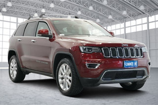 2017 Jeep Grand Cherokee WK MY17 Limited Red 8 Speed Sports Automatic Wagon.