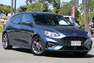 2021 Ford Focus SA 2021MY ST-Line Blue Metallic 8 Speed Automatic Hatchback.