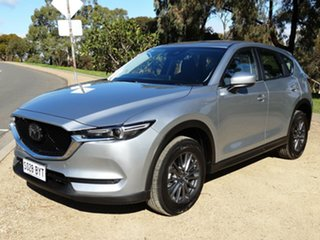 2018 Mazda CX-5 KF4WLA Maxx SKYACTIV-Drive i-ACTIV AWD Sport Silver 6 Speed Sports Automatic Wagon.