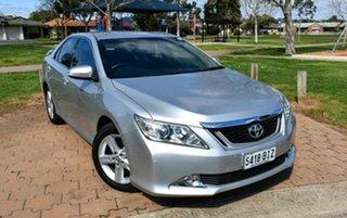 2012 Toyota Aurion GSV50R AT-X Silver 6 Speed Sports Automatic Sedan.