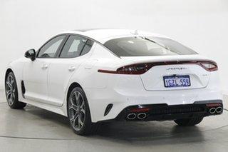2019 Kia Stinger CK MY20 GT Fastback Carbon Edition White 8 Speed Sports Automatic Sedan.