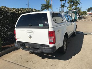 2014 Holden Colorado RG MY15 LS Crew Cab White 6 speed Automatic Utility