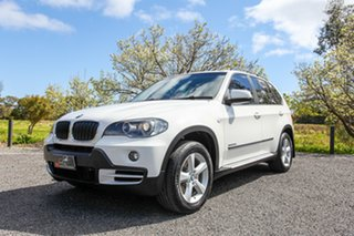2009 BMW X5 E70 MY09 xDrive30d Steptronic Executive White 6 Speed Sports Automatic Wagon.