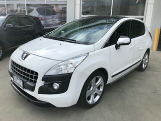 2013 Peugeot 3008 T8 MY13 Allure SUV White 6 Speed Sports Automatic Hatchback.