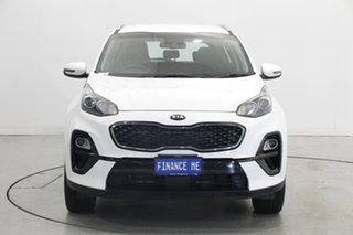 2020 Kia Sportage QL MY21 S 2WD White 6 Speed Sports Automatic Wagon.