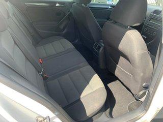 2010 Volkswagen Golf 1K MY10 118 TSI Comfortline White 7 Speed Auto Direct Shift Hatchback