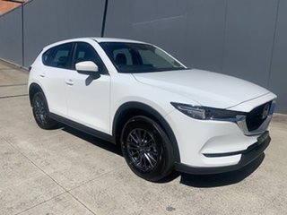 2021 Mazda CX-5 KF4WLA Maxx SKYACTIV-Drive i-ACTIV AWD Sport Snowflake White 6 Speed.