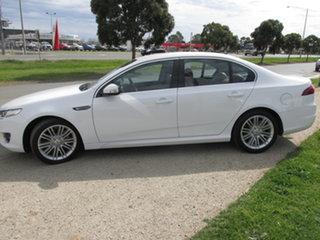 2015 Ford Falcon FG X G6E White 6 Speed Automatic Sedan
