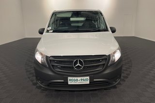 2017 Mercedes-Benz Vito 447 114BlueTEC LWB 7G-Tronic + White 7 speed Automatic Van.