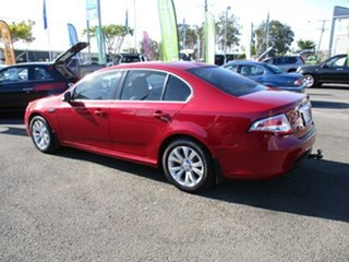 2010 Ford Falcon FG G6E Red 6 Speed Automatic Sedan