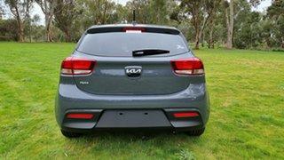 2021 Kia Rio YB MY22 SX Perennial Grey 6 Speed Automatic Hatchback