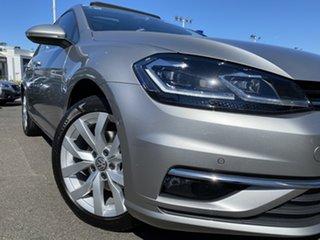 2018 Volkswagen Golf 7.5 MY18 110TSI DSG Highline Tungsten Silver 7 Speed.