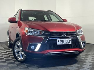2018 Mitsubishi ASX XC MY19 ES 2WD ADAS Red 1 Speed Constant Variable Wagon.