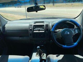 2008 Nissan Navara D40 ST-X Black 6 Speed Manual Utility