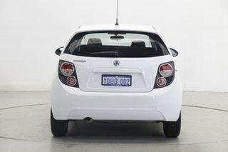 2011 Holden Barina TM White 5 Speed Manual Hatchback