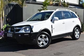2012 Holden Captiva CG Series II MY12 5 AWD White 6 Speed Sports Automatic Wagon.