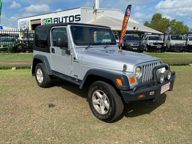 Used Jeep Wrangler TJ MY2006 65th Anniversary Berrimah, 2006 Jeep Wrangler TJ MY2006 65th Anniversary Silver 6 Speed Manual Softtop