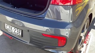 2015 Kia Rio UB MY15 S Grey 4 Speed Sports Automatic Hatchback.