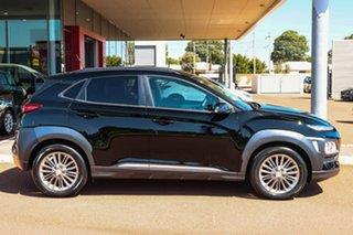 2017 Hyundai Kona OS MY18 Elite 2WD Black 6 Speed Sports Automatic Wagon