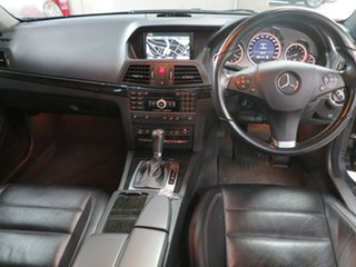 2011 Mercedes-Benz E-Class A207 E350 7G-Tronic Avantgarde Black 7 Speed Sports Automatic Cabriolet