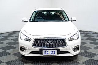 2018 Infiniti Q50 V37 GT White 7 Speed Sports Automatic Sedan.