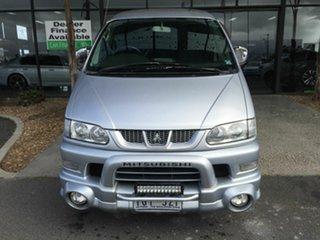 2005 Mitsubishi Delica Chamonix (Spacegear) Silver 4 Speed Automatic Wagon.