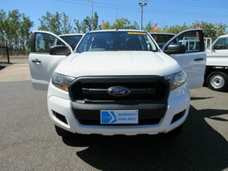 2015 Ford Ranger PX MKII XL White 6 Speed Sports Automatic Double Cab.