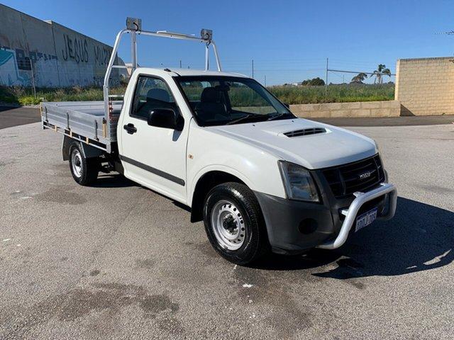 Used Isuzu D-MAX TF MY10 SX (4x2) Wangara, 2011 Isuzu D-MAX TF MY10 SX (4x2) White 5 Speed Manual Cab Chassis