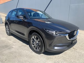 2021 Mazda CX-5 KF4WLA Akera SKYACTIV-Drive i-ACTIV AWD Machine Grey 6 Speed Sports Automatic Wagon.
