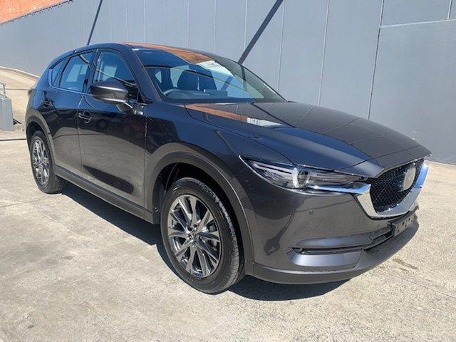 New Mazda CX-5 KF4WLA Akera SKYACTIV-Drive i-ACTIV AWD Alexandria, 2021 Mazda CX-5 KF4WLA Akera SKYACTIV-Drive i-ACTIV AWD Machine Grey 6 Speed Sports Automatic Wagon