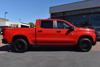 2021 Chevrolet Silverado T1 MY21 1500 LT Trail Boss Pickup Crew Cab Red Hot 10 Speed Automatic.