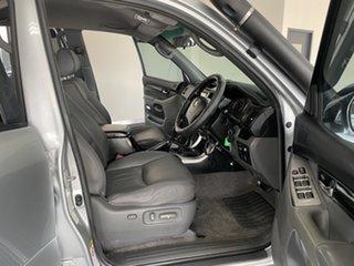 2007 Toyota Landcruiser Prado KDJ120R VX Silver 5 Speed Automatic Wagon
